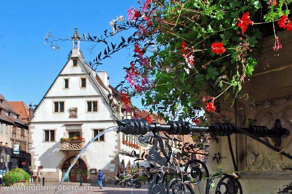 Mercado de Trigo (Obernai, Francia)