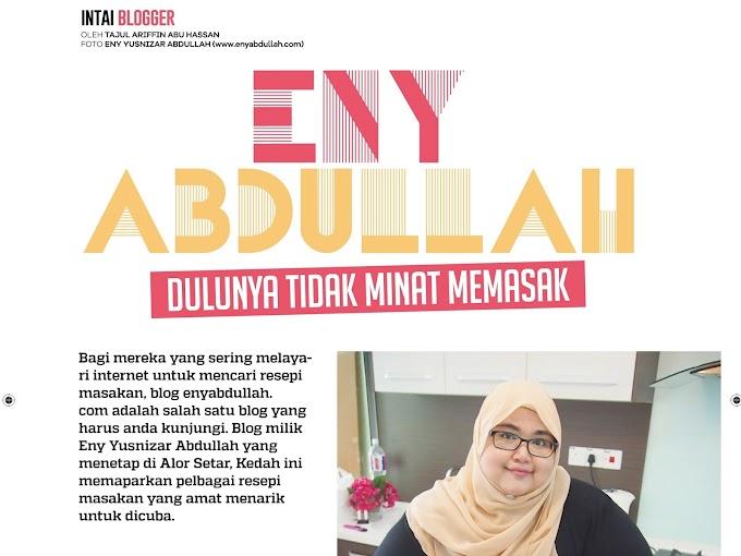 Eny Abdullah Di Majalah SAJI September 2016!
