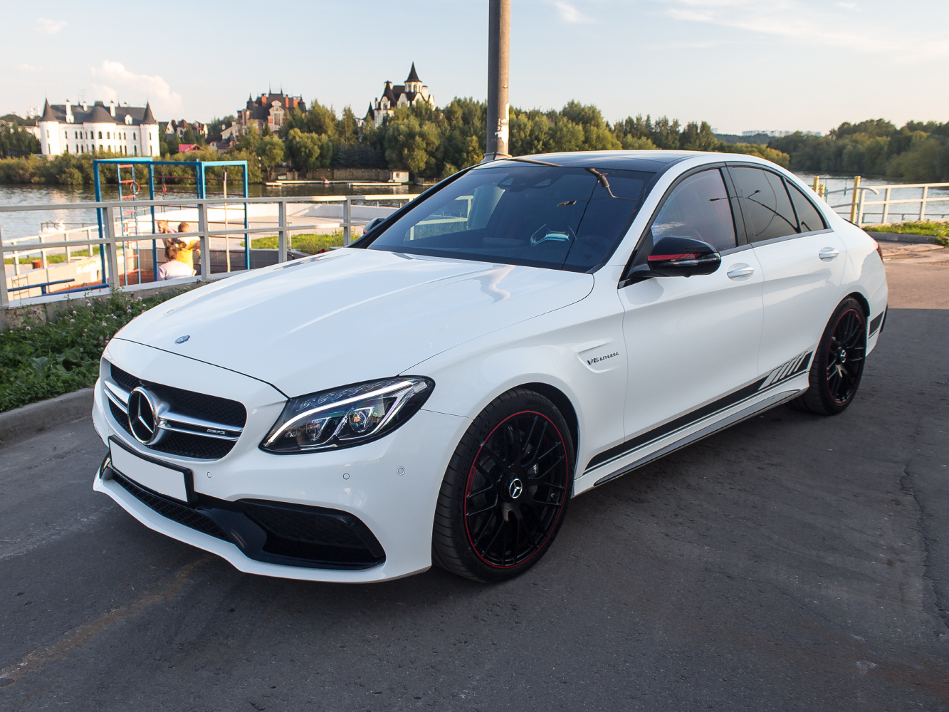 2015 mercedes amg w205 c63 edition 1 benztuning for Mercedes benz c63 amg black edition