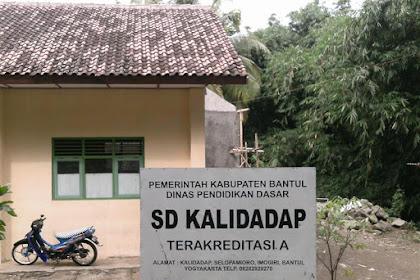 Profil Perpustakaan Sekolah SD N KALIDADAP, Desa Selopamioro, Bantul Yogyakarta