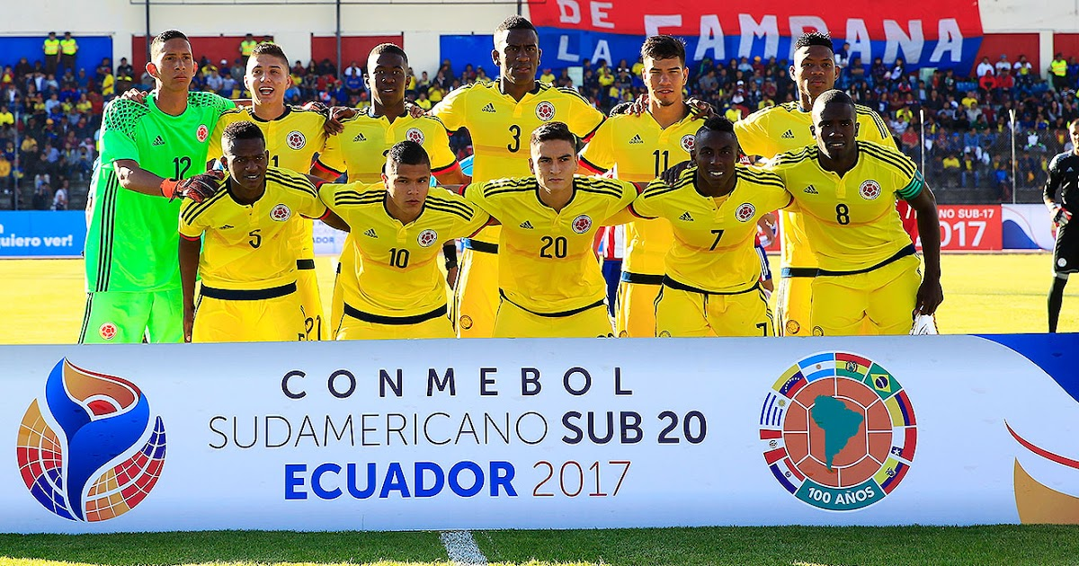Ecuador Sub 20: Ecuador U20 Vs Colombia U20 En Hexagonal Final