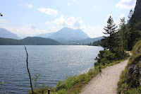 Walking arround Lake Altaussee from Spectre