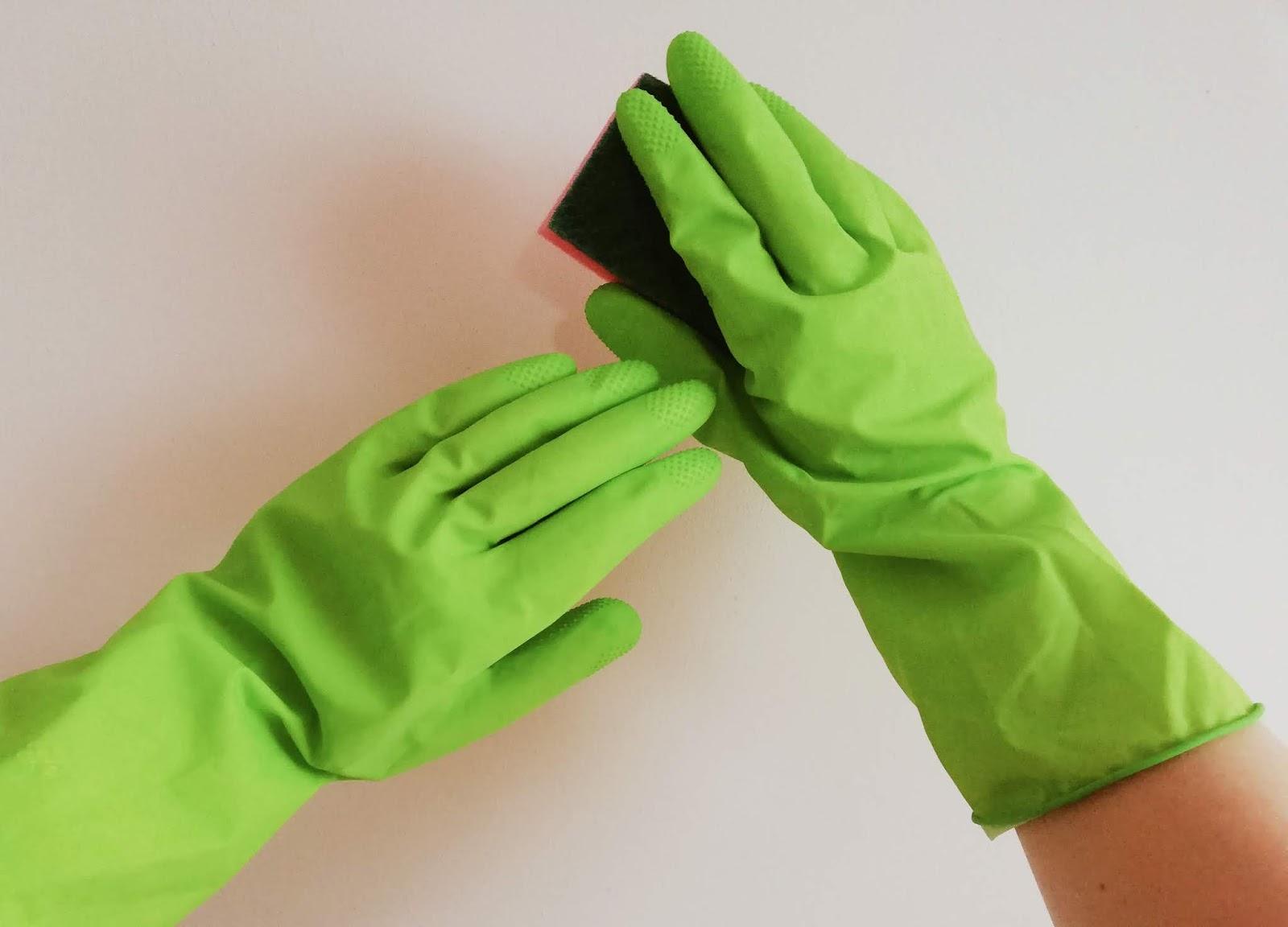 rekawiczki; zmywanie; housework