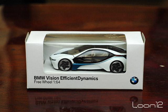 Red Dot Die Cast Collection Bmw Vision Efficientdynamics