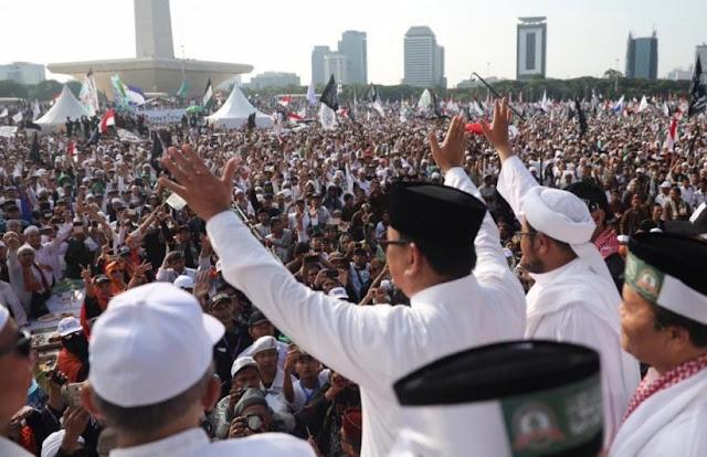 Prabowo: Tertibnya Reuni 212 Jadi Bukti Umat Islam Bukan Radikal