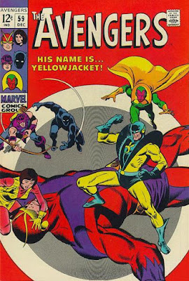 Avengers #59, Yellowjacket makes his debut
