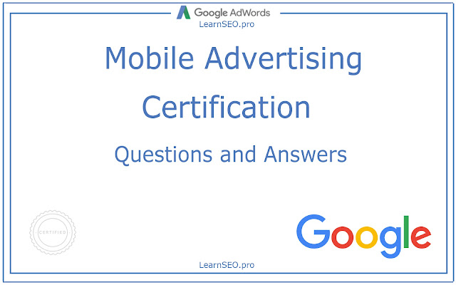 Mobile Advertising Certification