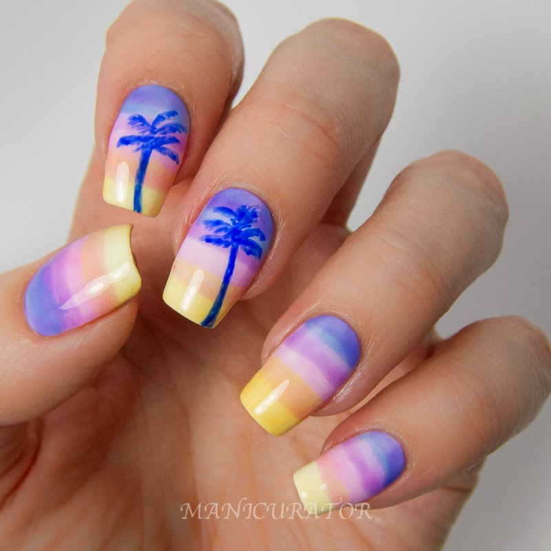 Summer Acrylic nail designs