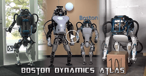 Atlas, Η Επόμενη Γενιά Robot, Boston Dynamics, Google 2