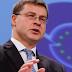Το tweet του Ντομπρόβσκις μετά το Eurogroup