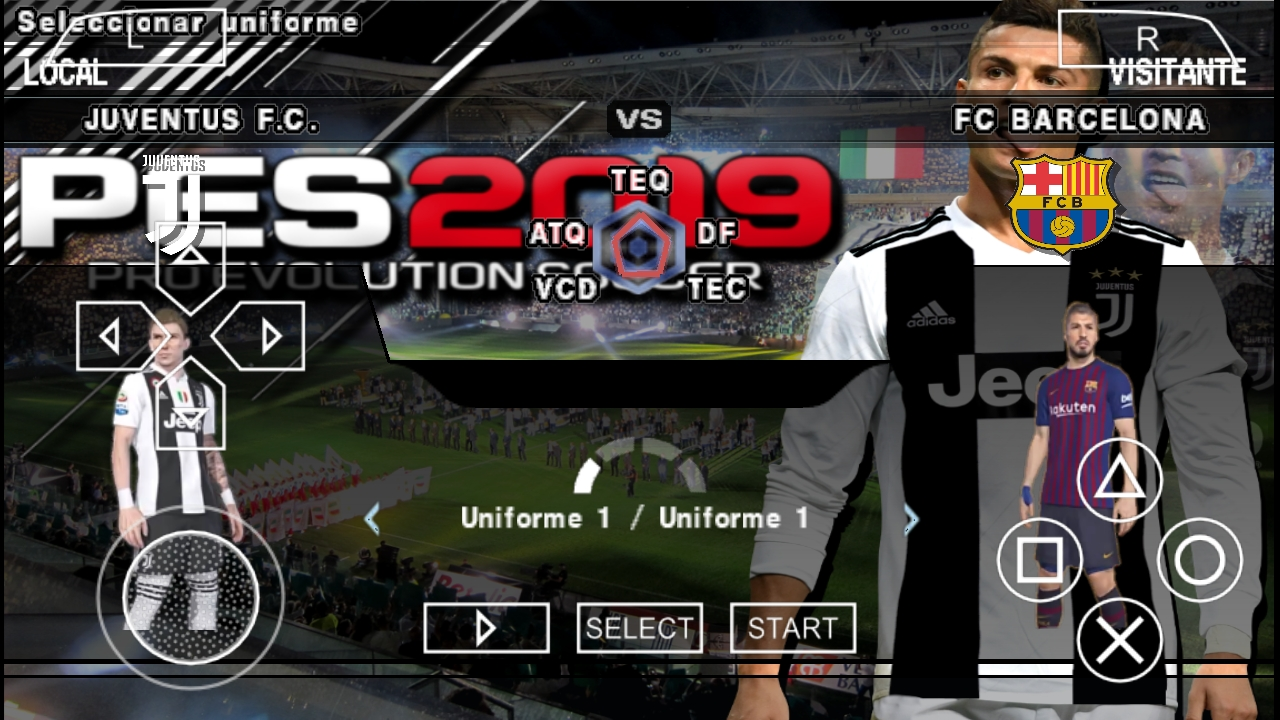 تحميل لعبة PES 2019 PSP للأندرويد بدون انترنت و بآخر الانتقالات