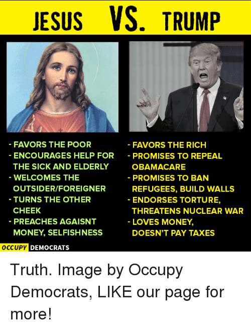 Is Donald Trump the new face of American Christianity ...
