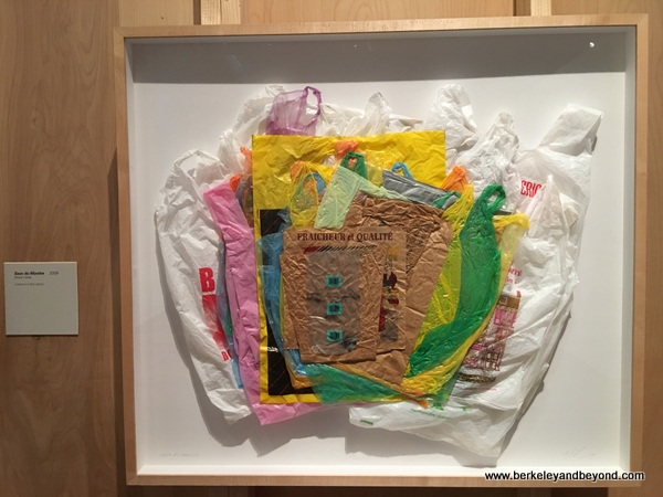 plastic market bags by Chuck Ramirez at McNay Art Museum in San Antonio, Texas