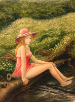 Girl in the Red Hat