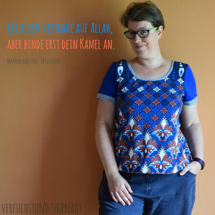 Shirt mit marokkanischem Muster