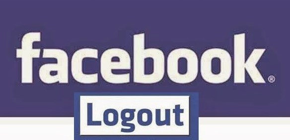 can t logout of facebook