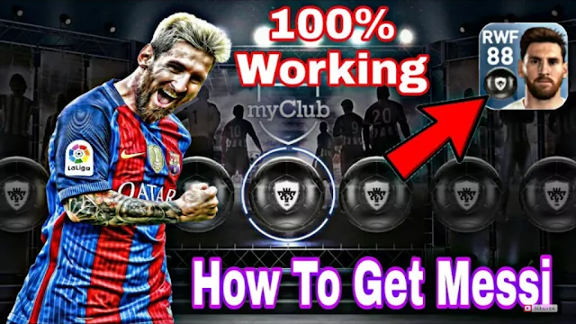 How To Get Messi 100% In PES 2018 Mobile (Android/IOS)