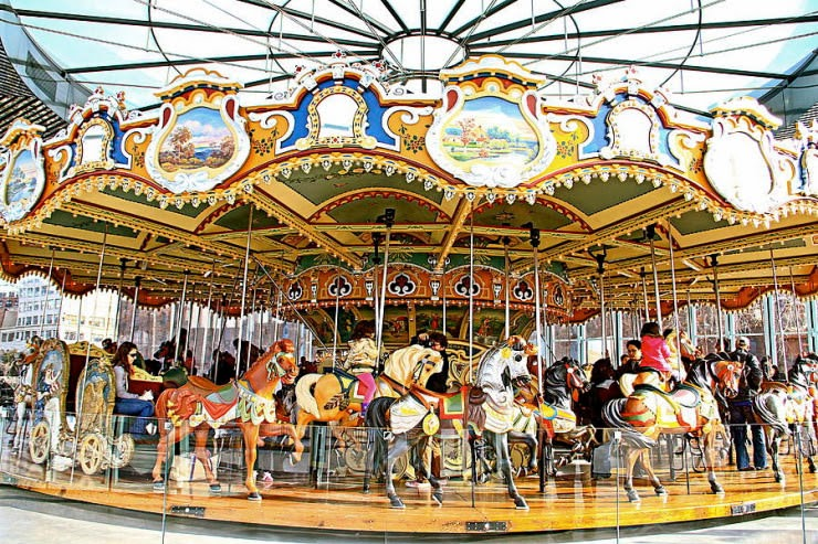 4. Carousel - Top 10 Things to See and Do in Central Park, NYC