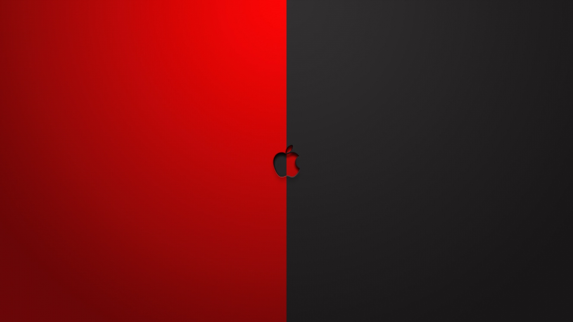 Apple Red And Black