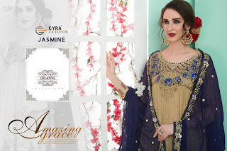 Cyra fashion Jasmine eid Pakistani Suits wholesaler