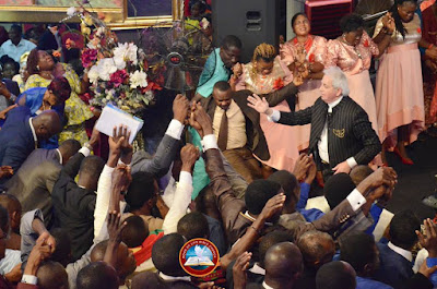 Ayo Oritsejafor Warmly Welcomes Benny Hinn To His Church In Warri (Photos)
