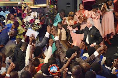 Ayo Oritsejafor Warmly Welcomes Benny Hinn To His Church In Warri (Photos)