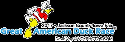 JC IA FAIR 2017 Great American Duck Races (SUNDAY)
