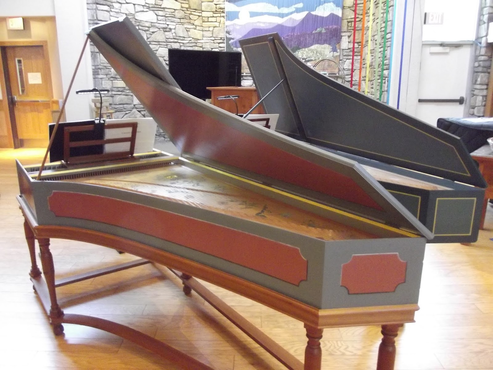 IN REVIEW: the harpsichords played by JORY VINIKOUR and PHILIPPE LEROY in recital in Asheville, North Carolina, on 20 October 2018 [Photo by the author, © by Joseph Newsome / Voix des Arts]