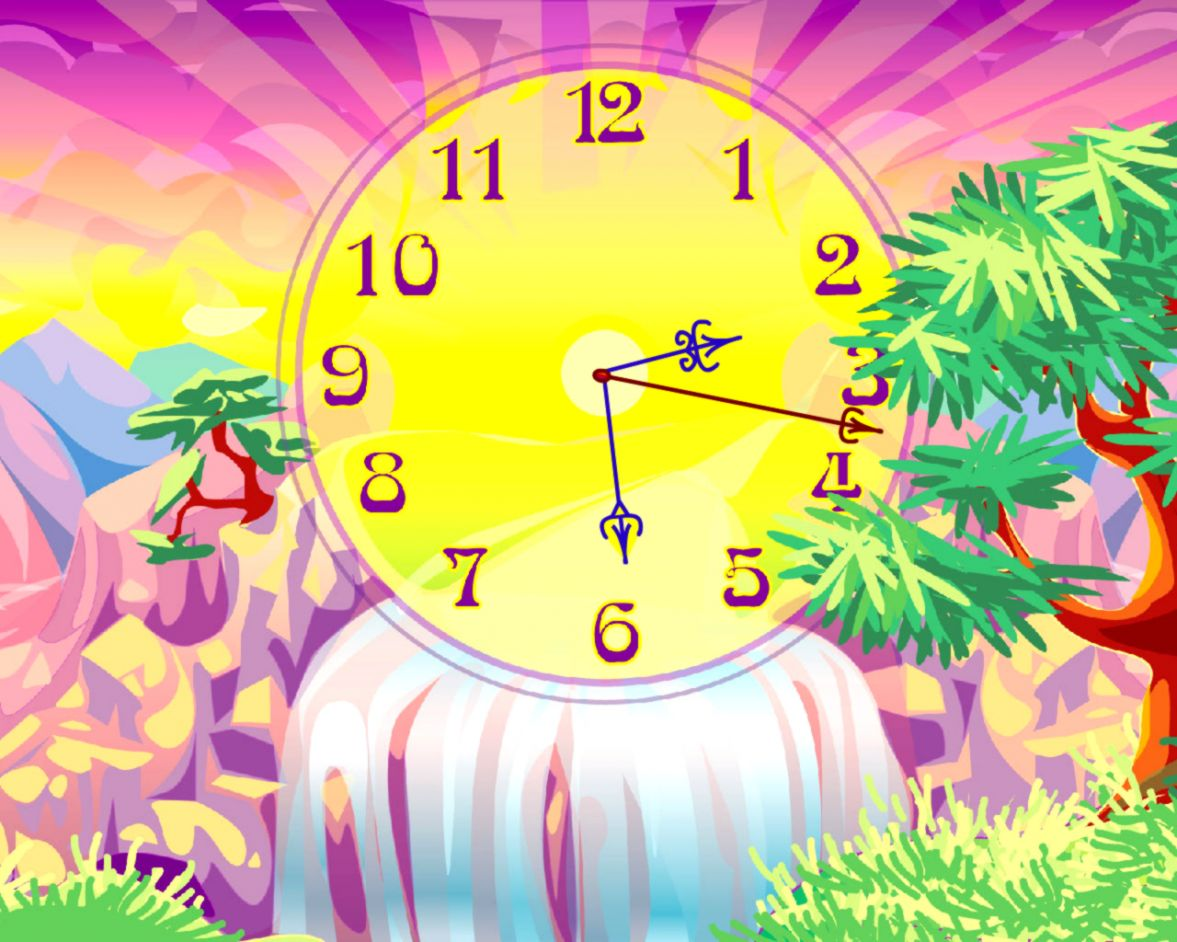 Download Oasis Clock Live Animated Wallpaper The air is delicious