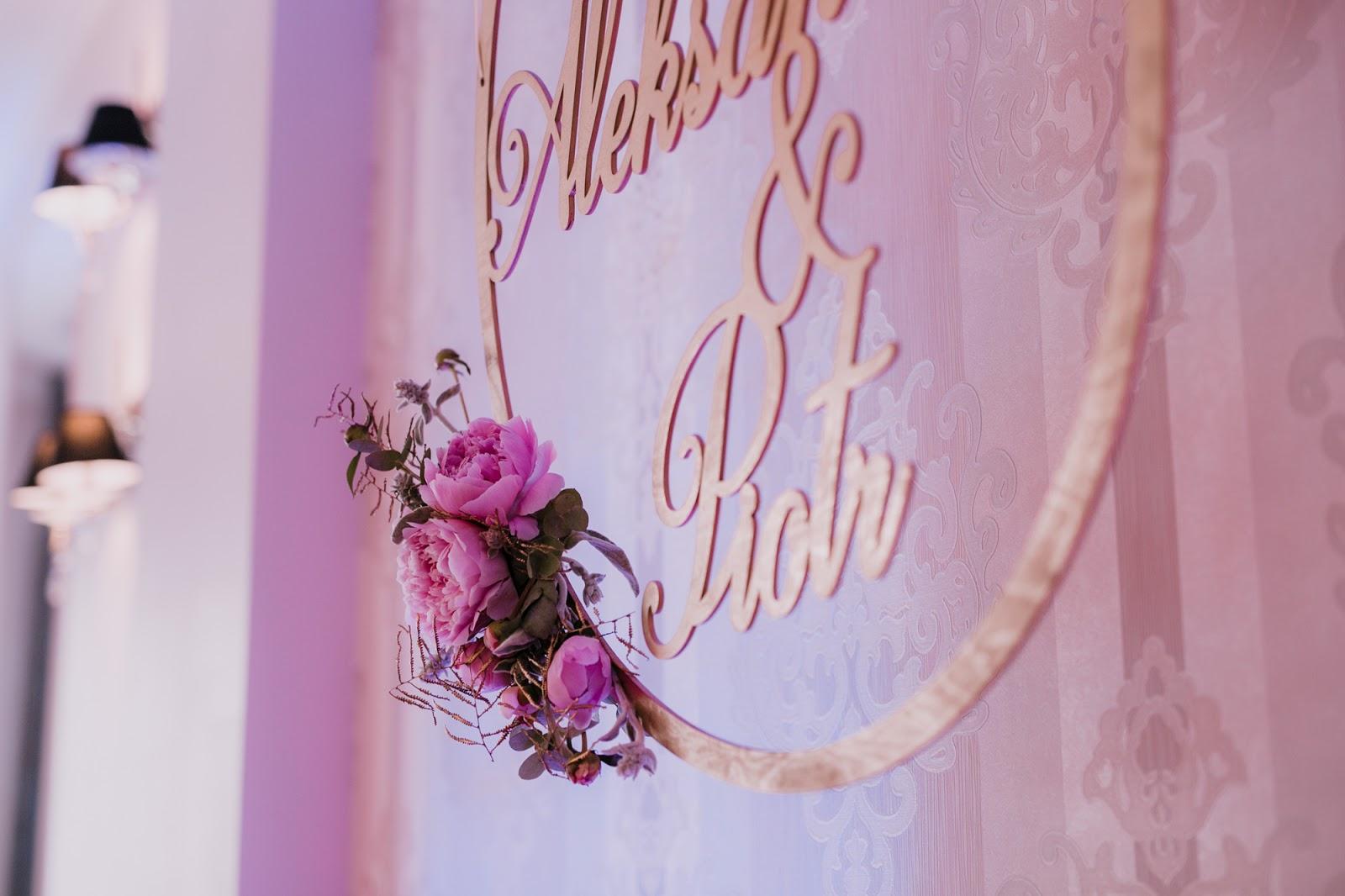 Wystrój Sali Weselnej Dekoracje Florystyczne Dekoracje światłem