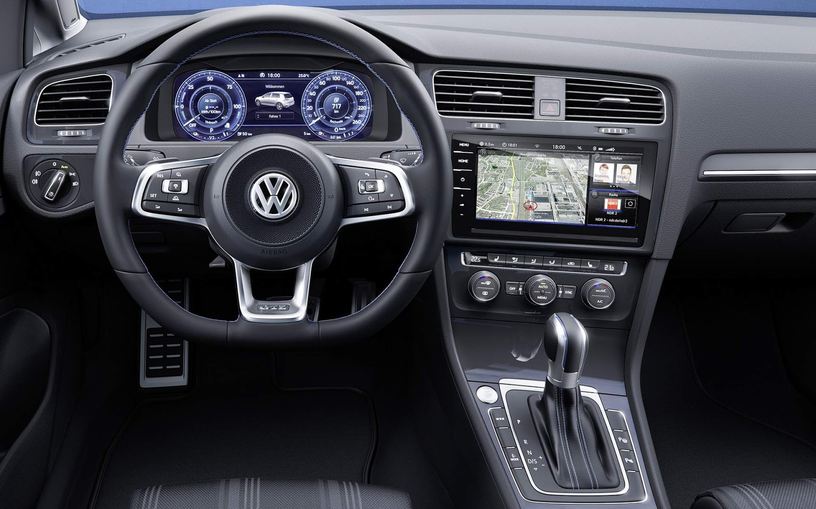 vw golf gte e gtd 2018 come am a ser vendidos europa car blog br. Black Bedroom Furniture Sets. Home Design Ideas