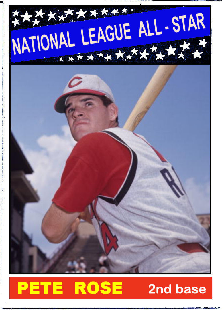 Cards That Never Were 1966 Topps All Star Cards National League