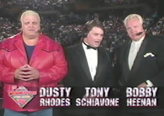 WCW Slamboree 1996 Review - Dusty, Tony, and Bobby commentary team