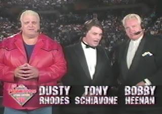 WCW Slamboree 1996 Review - Dusty, Tony, and Bobby commentary team