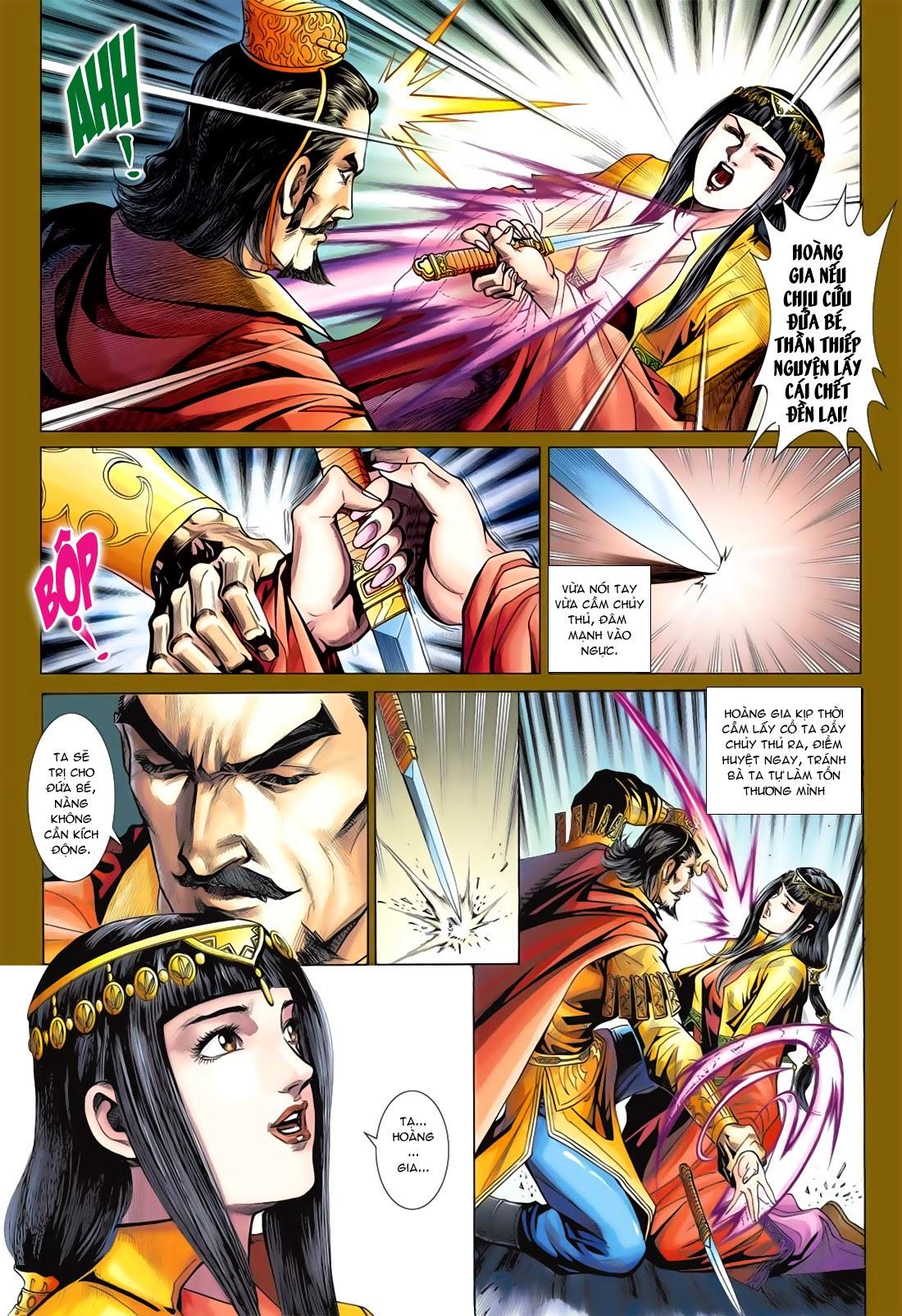 Anh Hùng Xạ Điêu anh hùng xạ đêu chap 78: sát anh trang 19