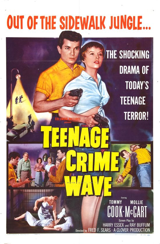 Teenage Crime Wave 1955 movieloversreviews.filminspector.com poster