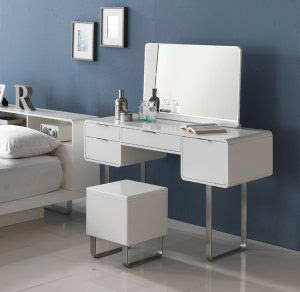 white dressing tables for small bedroom, modern dressing table design ideas