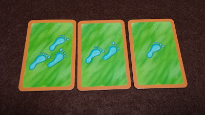ジャングルマーケット 足跡カード 1~3