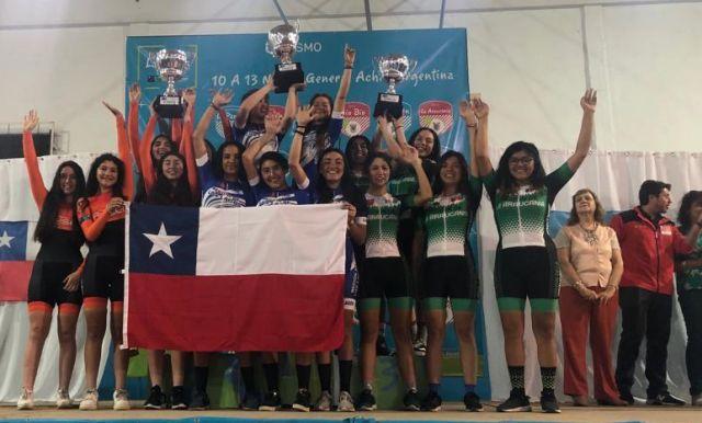 Región de Los Lagos logró el tercer lugar de los Juegos Binacionales de la Araucanía La Pampa 2019