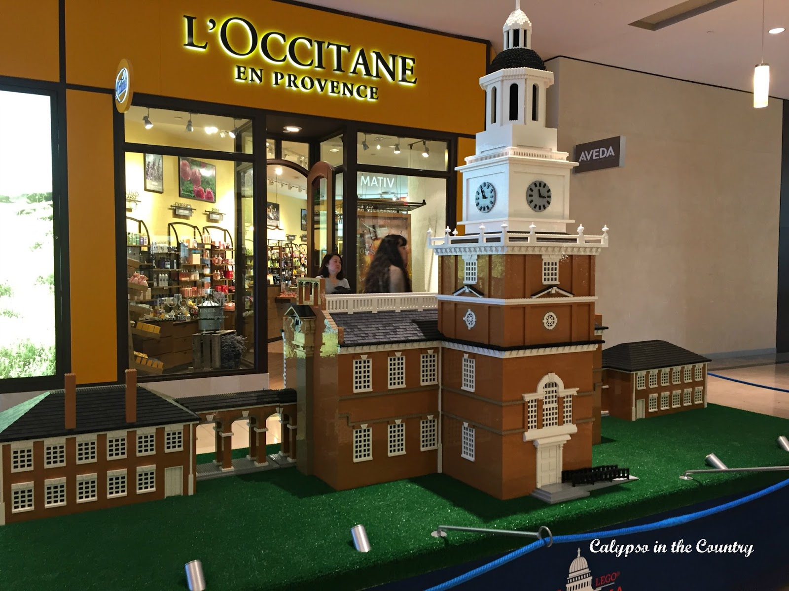 Lego model - Independence Hall - Philiadelphia