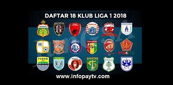 Info Lengkap Liga 1 Indonesia 2018
