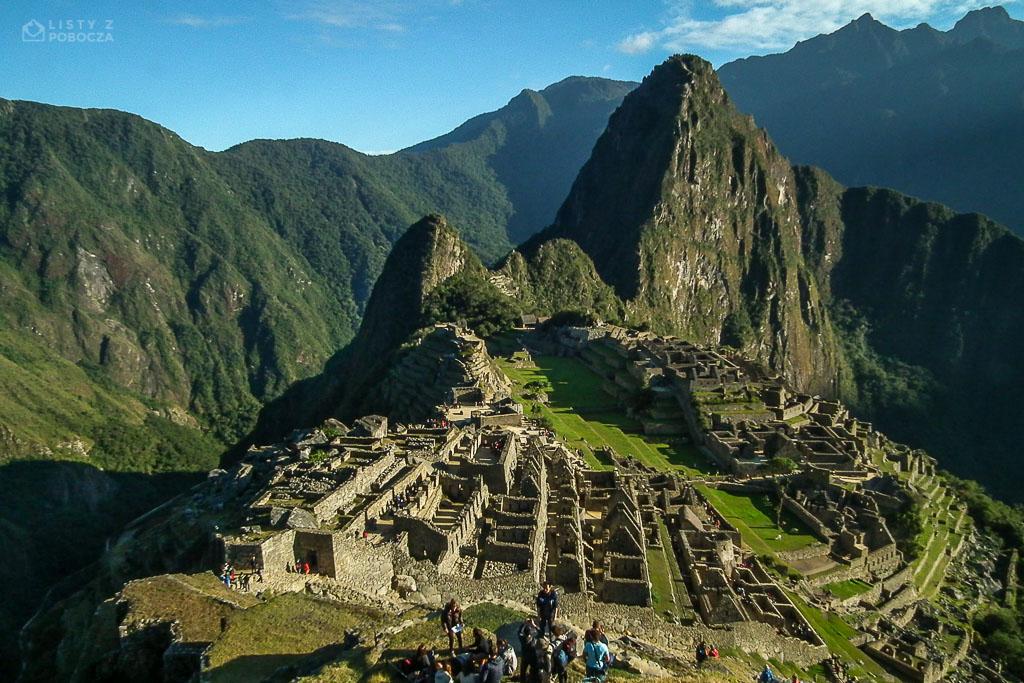 Ruiny Machu Picchu w Peru