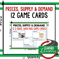 Price Supply and demand, Free Enterprise, Economics, Free Enterprise Lesson, Economics Lesson, Free Enterprise Games, Economics Games, Free Enterprise Test Prep, Economics Test Prep