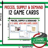 Price Supply and demand, Free Enterprise, Economics, Free Enterprise Lesson, Economics Lesson, Free Enterprise Games, Economics Games, Free Enterprise Test Prep, Economics Test Prep