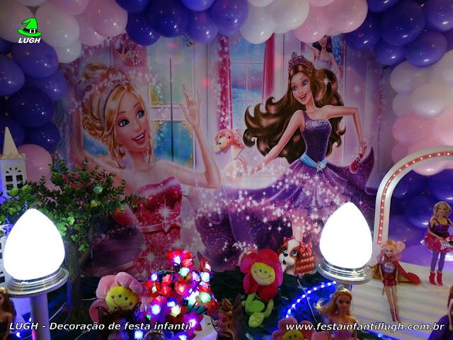 Festa infantil Barbie Pop Star