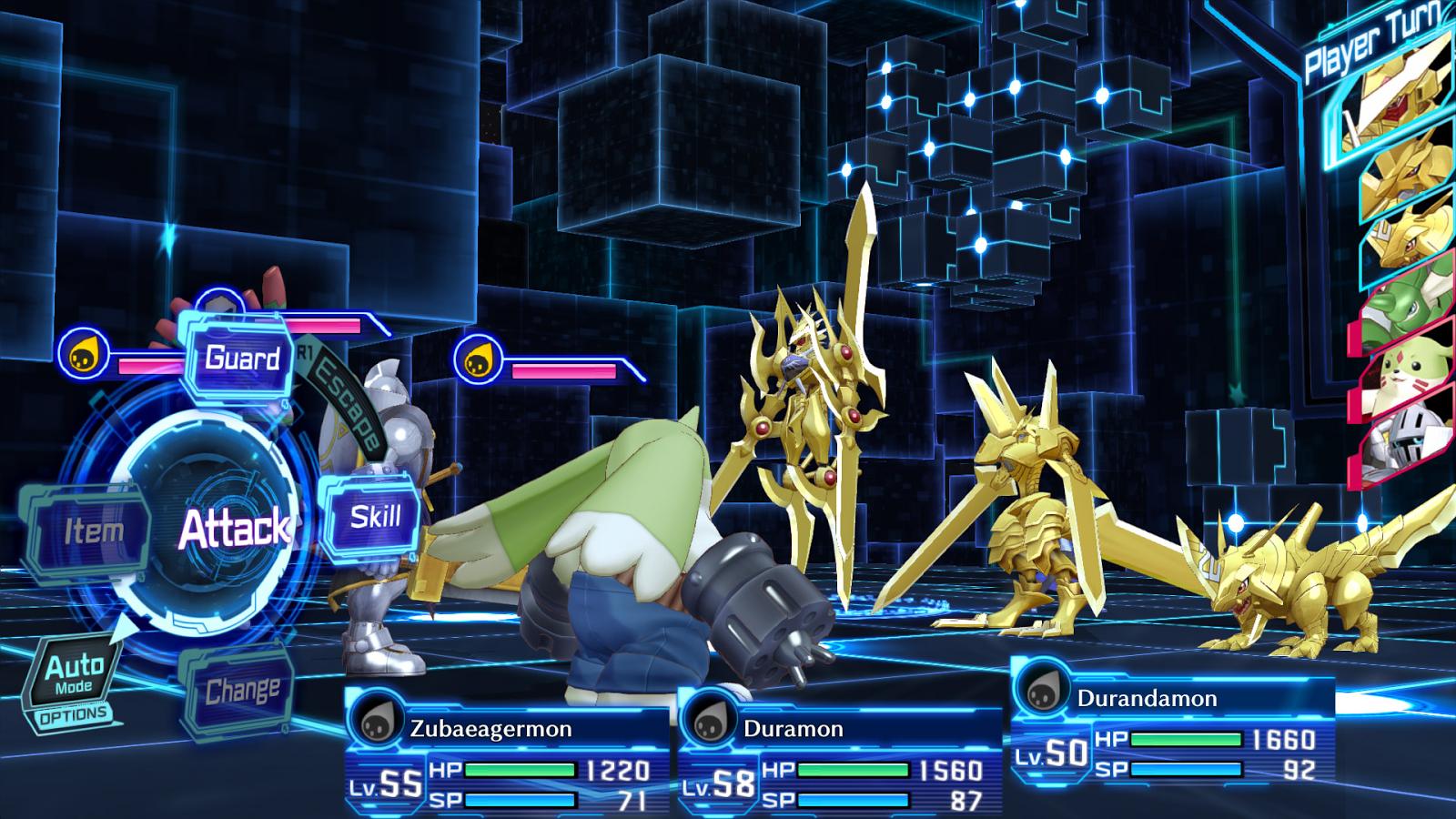 Digimon Story: Hacker's Memory contará con Duramon y sus evoluciones