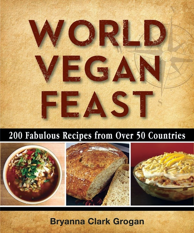 2ND EDITION OF MY BOOK WORLD VEGAN FEAST