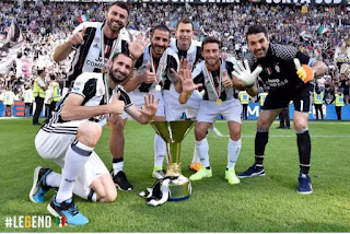 Juventus sixth succesive title