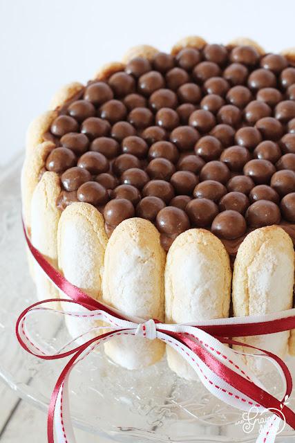 Charlotte Nutella Mascarpone Recette Facile