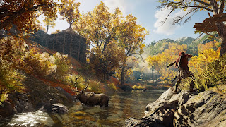 Assassin's Creed Odyssey Wii U Wallpaper